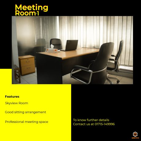Meeting room 1 features and image